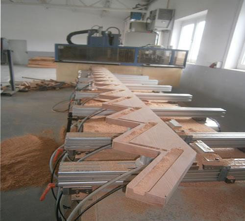Świeże Usługi CNC dla stolarzy – Niedworok Schody HK35